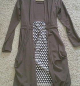 Платье+кардиган 46-48разм