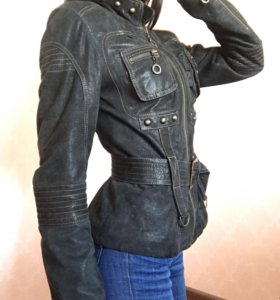 Замшевая куртка fiomio
