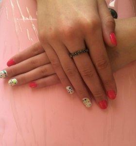 Покрытие ногтей шеллаком ( гель лаком)💅💅