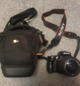 Зеркальный фотоаппарат Sony slt a35