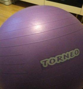 Гимнастический мяч торнео 65см