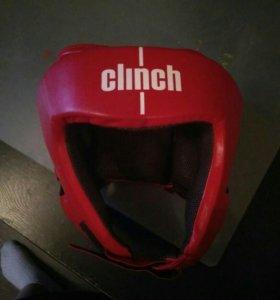 Боксерский шлем Clinch Olimp