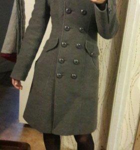Пальто dekka с натуральным мехом