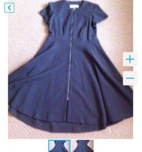 Шерстяное платье YSL