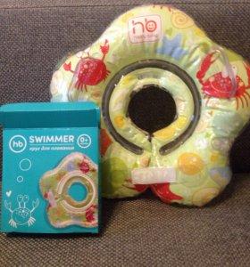 Абсолютно НОВЫЙ!! Круг для купания на шею малыша.