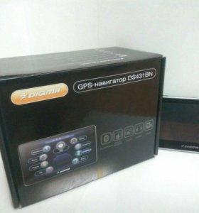 Авто GPS навигатор Digma Ds431Bn