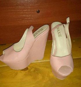 Женские босоножки туфли 1+1
