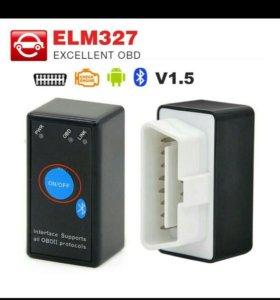 Адаптер для диагностики v1.5 Elm327 Bluetooth
