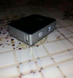 Power bank/внешний аккумулятор на 5200 mAh