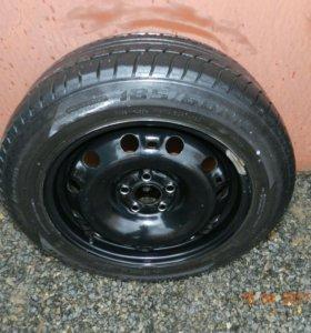 Комплект колес на Volkswagen Polo