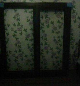Окно деревянное