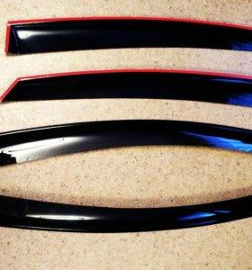 Дефлекторы на Форд Мондео 4