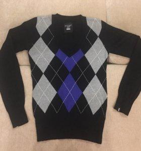 Пуловер (свитер, кофта) р. XS, шерсть