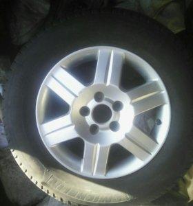 Шины и диски (HONDA CR-V)