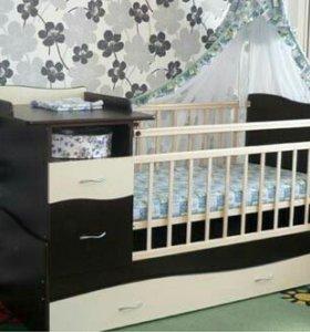 Кроватка- трансформер