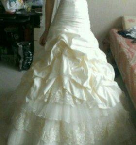 Свадебное платье рыбка. Мальдина