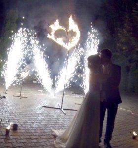 Огненное шоу на Свадьбу!!!