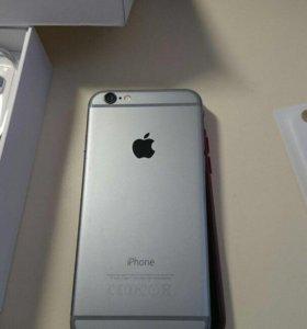 ОРИГИНАЛ IPhone 6 Space Gray полный комплект