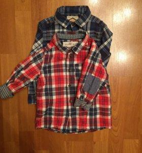 Рубашки Next и H&M