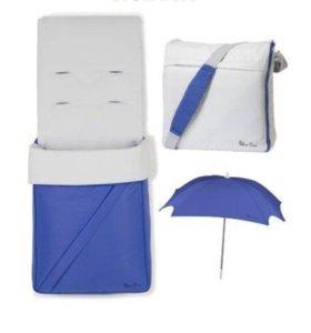 silver cross( набор)конверт+зонт+сумка