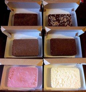 Шоколад в слитках