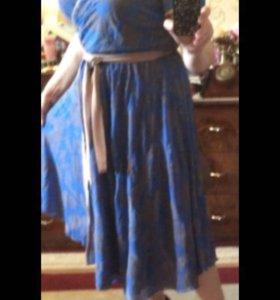 Платье 48/шифон