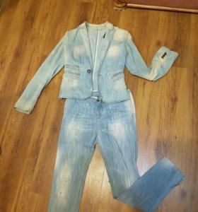 Джинс. костюм Dsquared