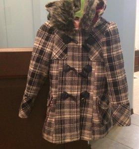 Пальто для девочки, 5 лет