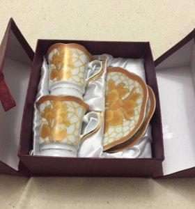 Набор кофейный 4 предмета/керамика