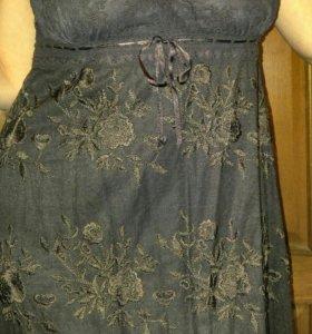 Платье коктельное.на подкладе 46-48р