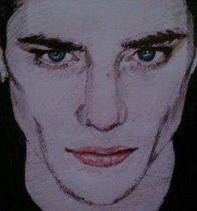 Рисунок,Портрет