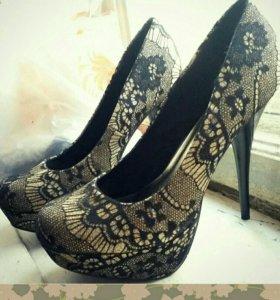 Туфли новые. 38,5