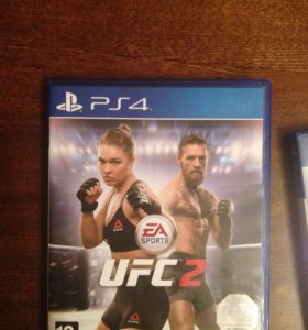 Игра UFC2 на PS4