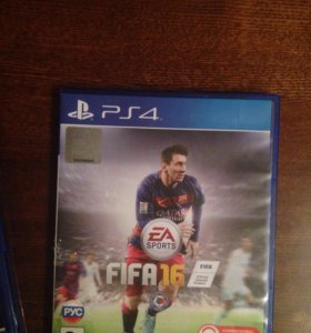 Игра FIFA 2016 на PS4