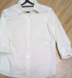 Рубашка белая классика