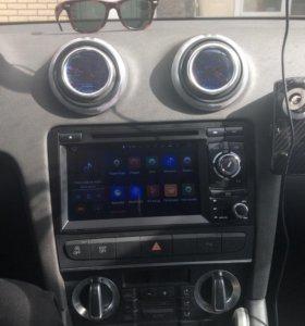 Магнитола андроид на Audi A3 8p