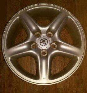 Литые диски R16 на автомобиль Тойота Харриер