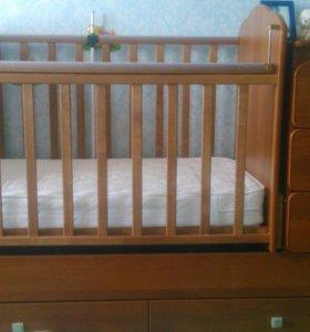 Кроватка - трансформер детская