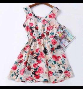 Платье летнее( новое )