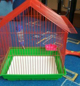 Клетка для попугая или грызуна