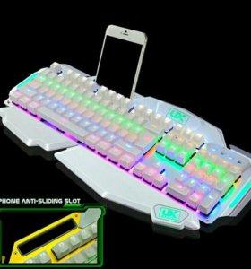 Клавиатура с подставкой под телефон