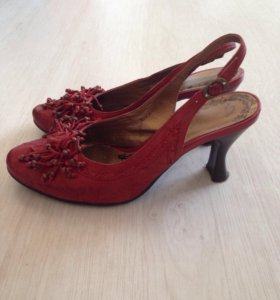 Кожаные туфли, р 35