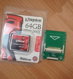Карта Памяти Kingston compactflash ultimate 64gb