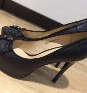 Туфли из натуральной кожи (р.39)