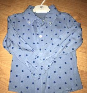 Рубашки для девочки 98-104 см