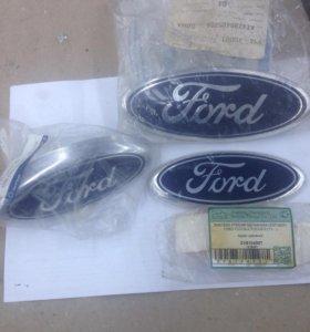 Эмблемы форд новые и б/у(оригинал)