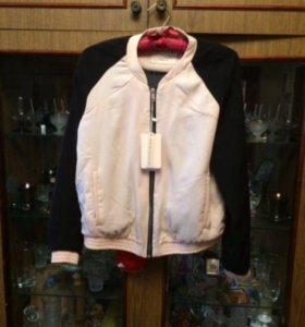 Куртка(бомбер) и кофта