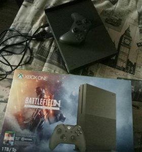 Xbox One S 1Тб + Battlefield 1