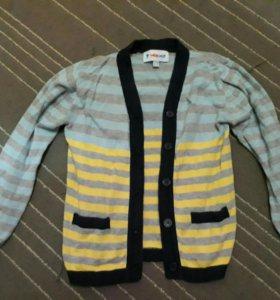 кардиган , свитер , кофта размер 116-122