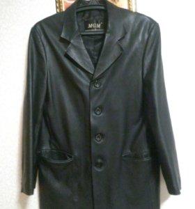 Кожанная куртка и пиджак